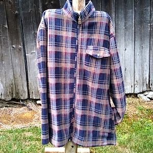 Arnold palmer plaid shirt jacket
